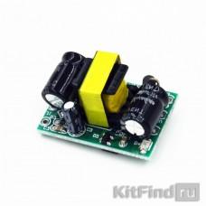 Сетевой импульсный AC-DC преобразователь 3.3 В 600 мА 2.5 Вт