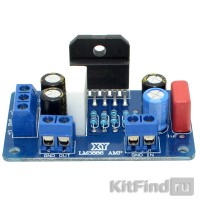 Усилитель НЧ 60 Вт, моно (LM3886TF) - готовый модуль
